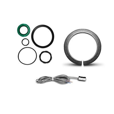 Komponenter til ISO 15552/6431 aktuatorer