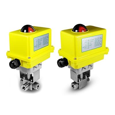 Ventiler med elektrisk aktuator
