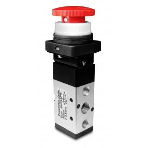 Manuel ventil 5/2 MV522EB 1/4 tommer aktuatorer