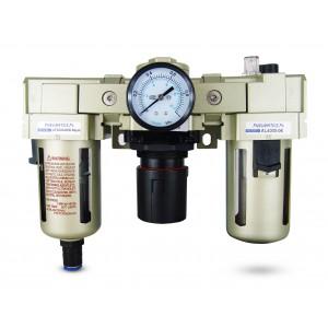 Filter dehydrator regulator smøremiddel FRL 3/4 tommer indstillet til luft AC4000-06D