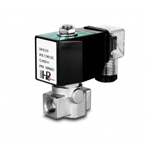 Højtryks magnetventil HP15-M rustfrit stål SS304 110bar