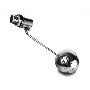 Float ventil, påfyldningsventil rustfrit stål DN15 1/2 inch