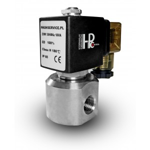 Magnetventil RM22-05 1/4 tommer rustfrit stål ss316 230V 12V 24V