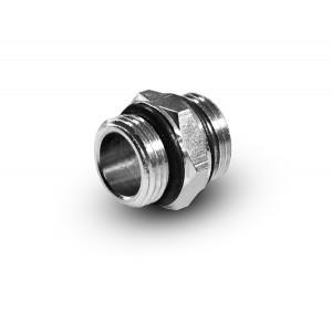 Niipple 1/4 - 1/4 tommer G02-G02 O-ringe