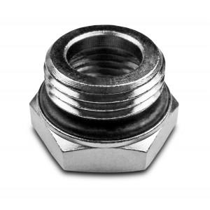 Reduktion 1/2 - 1/4 tommer med O-ring