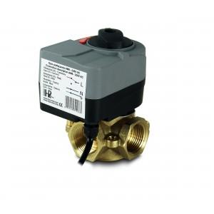 Blandeventil 3-vejs 1 1/4 tommer med elektrisk aktuator AM8