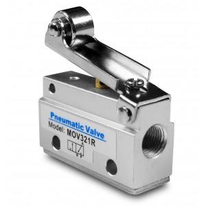 Manuel ventil 3/2 MOV321R 1/8 tommer aktuatorer