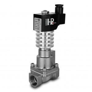 Magnetventil til damp og høj temp. RHT20-SS DN20 300C 3/4 tomme