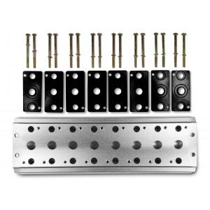 Samlerplade til tilslutning af 8 ventiler 1/4 serie 4V2 4A gruppe ventilterminal 5/2 5/3