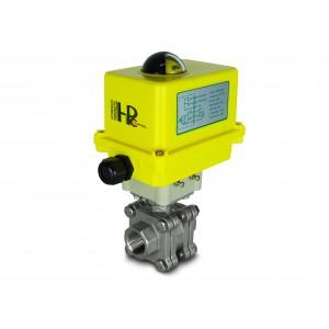 3/4 tommer højtryks kugleventil DN20 PN125 Aktuator A250