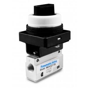 Manuel ventil 3/2 MOV321TB 1/8 tommer aktuatorer