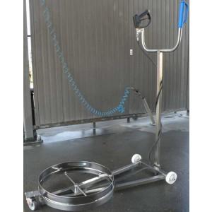 Enhed til vask af bilchassis - vask af bilchassis