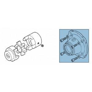 Kobling + adapter til pumpesæt RO