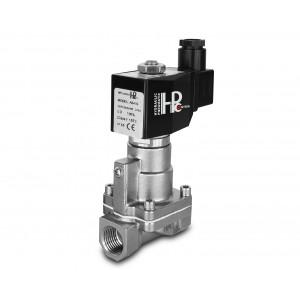 Magnetventil til damp og høj temp. RH15-SS DN15 200C 1/2 tommer rustfrit stål SS304