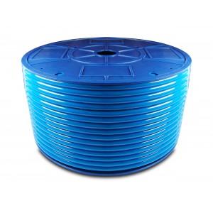 Polyurethan pneumatisk slange PU 6/4 mm 200m blå