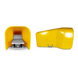 Fodeventil, luftpedal 5/2 1/4 tommer til cylinder 4F210G - monostabil med dæksel