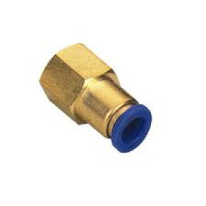 Tilslut nippelslange 6mm indvendig gevind 1/4 tommer PCF06-G02