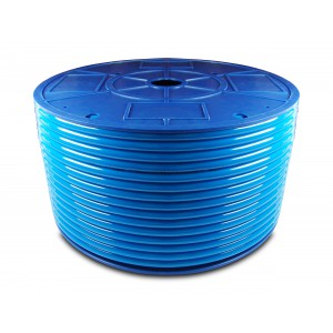 Polyurethan pneumatisk slange PU 4 / 2,5 mm 1m blå