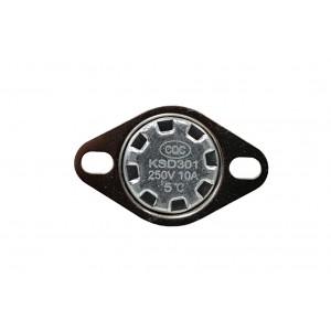 Bimetal termostat, NC temperatursensor 5 ℃ 10A 230VAC type KSD301