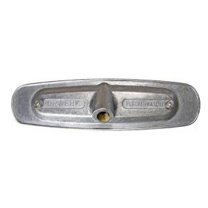 Aluminium monteringsplade til børstning af Vorwerk