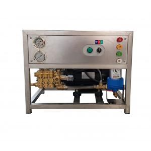 Sæt pumpe og motor på rammen til vask med tilbehør 13 l / min 150bar ækvivalent CAT350