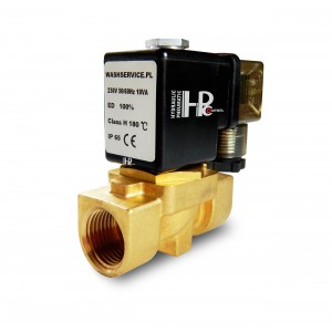 Magnetventil 2N10 1/2 tommer VITON 230V eller 12V 24V