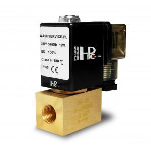 Magnetventil 2M10 3/8 tommer 0-16bar 230V 24V 12V