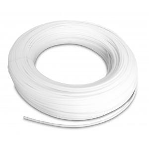 Polyamid pneumatisk slange PA Tekalan 12/9 mm 1m hvid