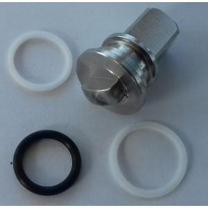 Reparationssæt til højtryks 3-vejs ventil 3/8 og 1/2 cala ss304 HB3