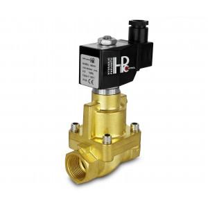 Magnetventil til damp og høj temp. åben RH15-NO DN15 200C 1/2 tommer