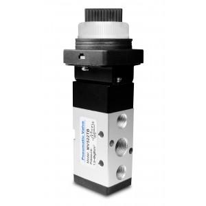 Manuel ventil 5/2 MV522TB 1/4 tommer aktuatorer