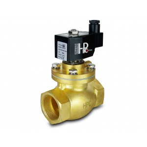 Magnetventil til damp og høj temp. åben LH50-NO DN50 200C 2 tommer