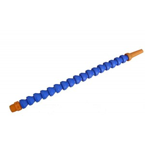 Segmentslange, leddet, dysen rundt, gevind 1/4 tomme 25 cm
