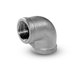 Rustfrit stål indvendigt gevind 1/4 tommer