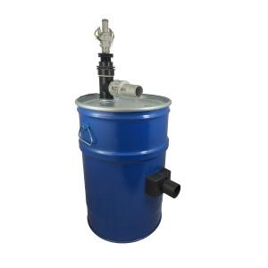 Støvsugerbeholder 60l med rengøring af trykluftfilter