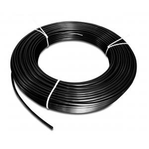 Polyamid pneumatisk slange PA Tekalan 6/4 mm 1m sort