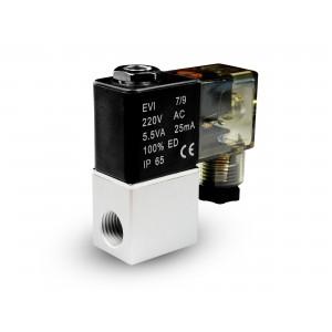 Magnetventil til luft og co2 2V08 1/4 230V 24V 12V