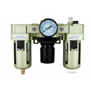Filter dehydrator regulator smøremiddel FRL 1/2 tommer indstillet til luft AC4000-04