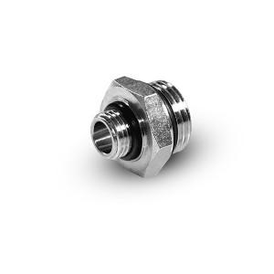 Reduktionsnippel 1/4 - 1/8 tommer G01-G02 O-ringe