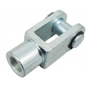Ledhoved Y M6 aktuator 16mm ISO 6432