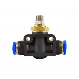 Præcisionsstrømsregulator kvalsventilslange 6mm LSA06