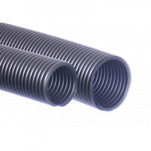Støvsugerslange 38/40 mm sølv 5m EVA
