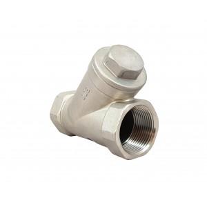 Checkventil Y type DN15 1/2 tommer - rustfrit stål SS316